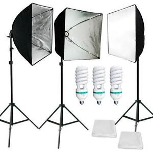 Photography Soft Box Lighting Kit  sc 1 st  eBay : ebay lighting - azcodes.com