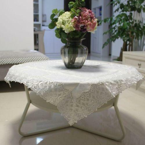 Square Lace Tablecloth | EBay