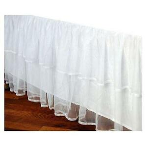 twin bed skirts