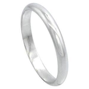 Mens Sterling Silver Wedding Rings