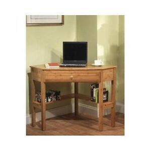 Charming Wood Corner Table