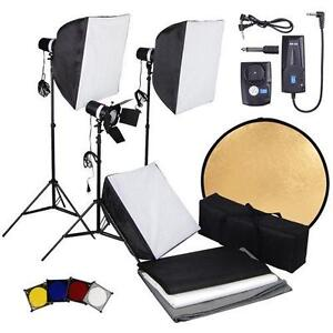 Photography Flash Lighting Kit  sc 1 st  eBay & Photography Lighting Kit | eBay