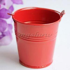 mini metal buckets