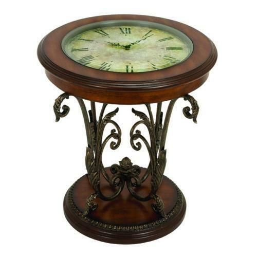 Merveilleux Clock End Table | EBay