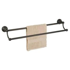 double towel bar bronze - Double Towel Bar