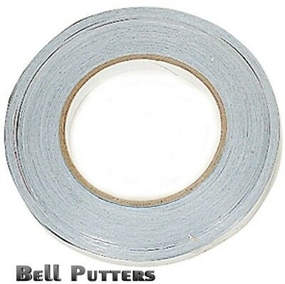 """One (1) Roll Lead Weight Tape 1/2"""" x 100""""-For Golf Putters/Clubs-Tennis-Fishing"""