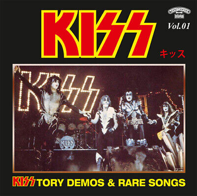 KISSTORY @DEMOS CD-1 RARE KISS !!! (Peter Criss/Paul Stanley/Gene Simmons)