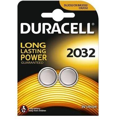 lot de  2 piles cr2032 duracell bouton lithium 3v cr 2032 dlc 2026