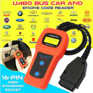 Clear that engine code with the U480 reader 100% NEW