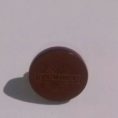 Genuine James Purdey & Sons Leather Pin Badge
