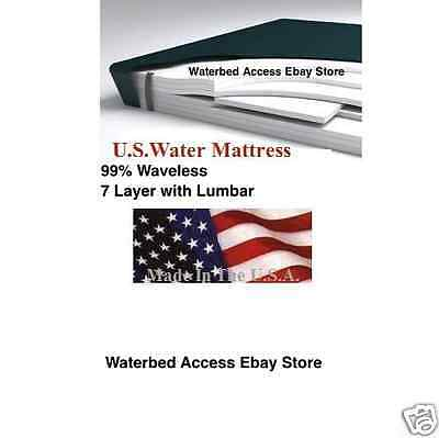 Twin Waterbed Mattress - Replacement Bladder for Twin or Single size SoftSide Waterbed Mattresses