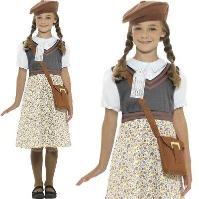 Mädchen 40er Jahre 1940er Schulmädchen Kostüm Kinder Outfit von - 40er Jahre Kleid Kostüm