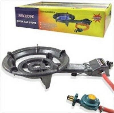 Portable Lpg Propane Gas Outdoor Camping Burner Stove Top Cast Iron Stovetop for sale  Shipping to Nigeria