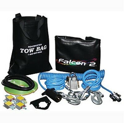 Roadmaster 9243-1 Falcon 2 Combo Towing Kit with Straight Wiring
