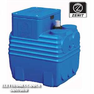 Vasca stazione di sollevamento bluebox 150 litri per for Pompa per vasca pesci