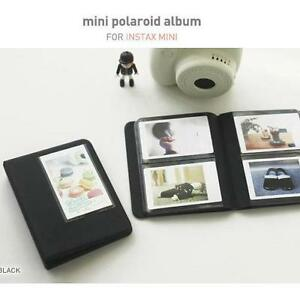 Fujifilm-INSTAX-MINI-Polaroid-Photo-Album-BLACK-for-Fuji-25i-7s-8-NEO-90-NEW