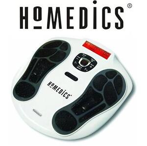 USED HOMEDICS MUSCLE STIMULATOR CIRCULATION PRO THERAPEUTIC MUSCLE STIMULATOR 106304070
