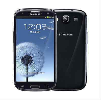 "Samsung Galaxy S3 III I9300 Unlocked 16GB 8MP 4.8"" Smartphone 3G Android - Black"