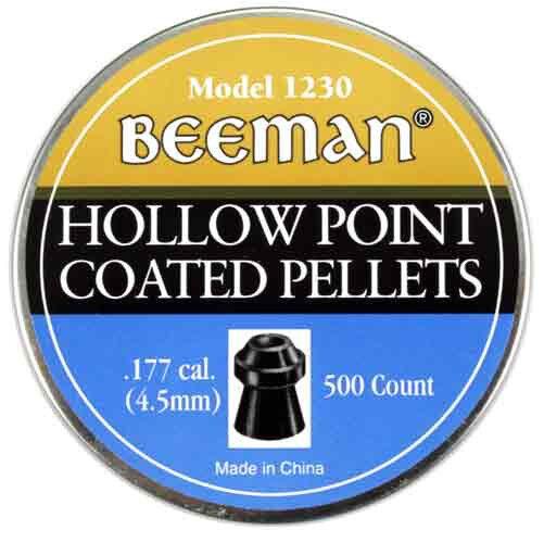 Marksman Beeman 500 PACK of .177 Caliber HOLLOW POINT PELLETS 1230 NEW