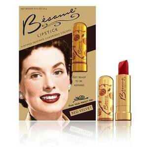 Besame Cosmetics Vintage Inspired Luxurious Colors ...