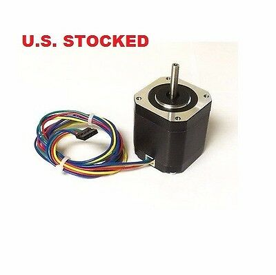 5pcs Nema17 Stepper Motor Kl17h248-15-4a For 3d Printer 76 Oz-in