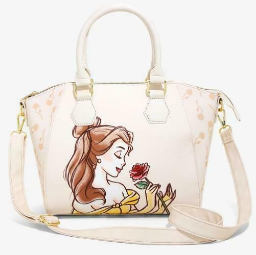 Loungefly Disney Beauty And The Beast Belle Satchel Bag