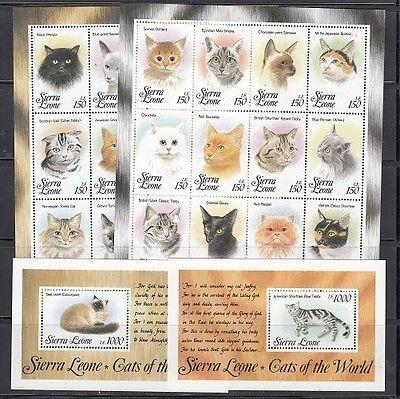 Sierra Leone Scott 1643-6 Mint NH (Catalog Value $46.00)