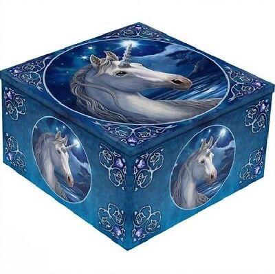 Unicorn Mirror Box Jewellery Fantasy Fairy Lisa Parker Mystical Gothic
