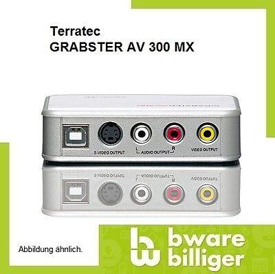 Terratec GRABSTER AV 300 MX  USB2.0 auch mit Scartanschluss 8(XB82269)
