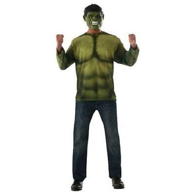 Captain America Bürgerkrieg Hulk Erwachsene Kostüm Marvel Comics Rubies Neu