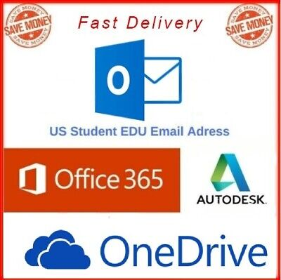 Edu Email Student Fast Delivery 1tb One Driveoutlook Login