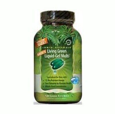 Living Green Liquid-Gel Multi for Men's Irwin Naturals 120