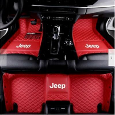 Luxury Custom Car Floor Mats For Jeep Wrangler 2008-2020