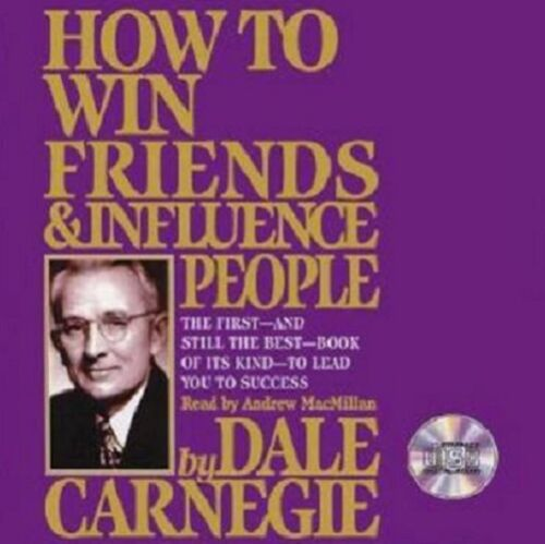 NEW How to Win Friends & Influence People- Dale Carnegie-Audio Book MP3 DVD