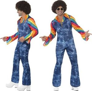 ann es 60 70 groovy costume danseuse d guisement disco hommes tenue par smiffys ebay. Black Bedroom Furniture Sets. Home Design Ideas