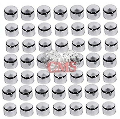 Motorcycle Accessories 48 Piece Chrome Cap Cover Kit For 1984-2003 Harley Sportster Engine & Misc Bolt