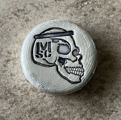 Mick Strider Custom .999 2 Oz fine Silver Hand Poured Bar Mutiny Metals SOLD OUT