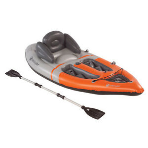 inflateable-kayak-canoe-SEVYLOR-1-Person-sit-on-top-BOAT