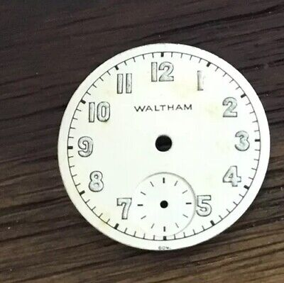 6/0 WW2 Vintage Waltham Military Dial