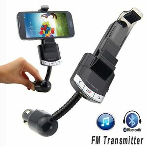 Bluetooth FM Transmitter with Holder