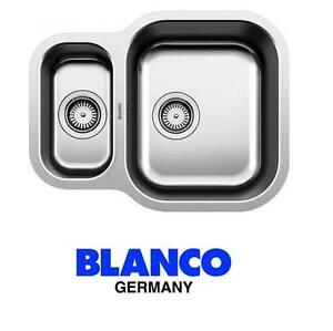 Blanco Essential 530-U 1.5 Bowl Stainless Steel Reversible  Undermount Sink