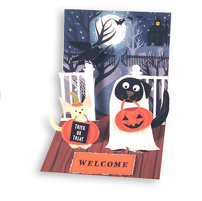 Dogs in Costume Pop-Up Halloween Card - Greeting Card by Up With Paper](Dogs In Halloween Costume)