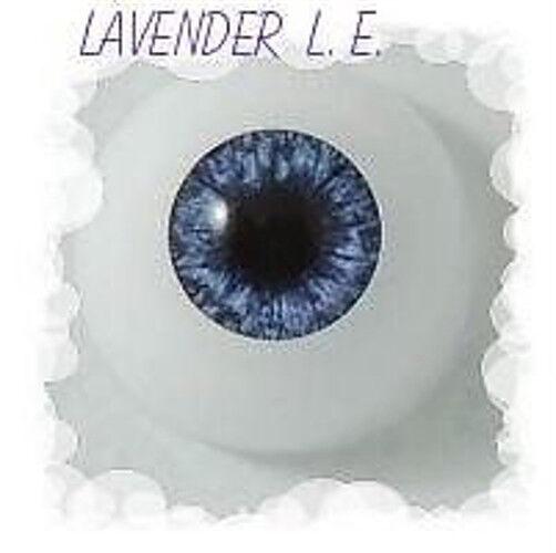 Lavender 16 mm Half Round L.E.Optical Grade REBORN DOLL ~ REBORN DOLL SUPPLIES