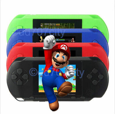 US STOCK! PXP3 Game Console Handheld Portable 16 Bit Retro Video Free Games Gift Free Game Systems