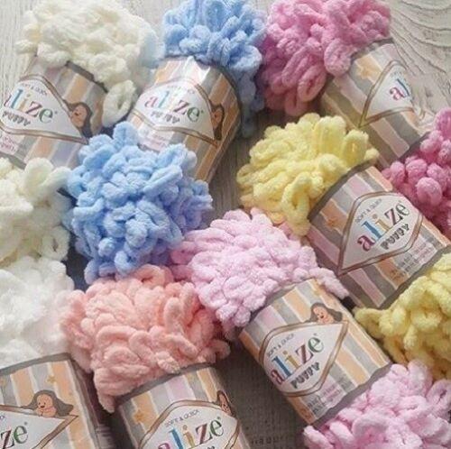 Yarn Alize Puffy plush yarn children