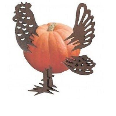 ige Deko für ihre Haustür Halloween Huhn Gusseisen PF005*** (Lustige Halloween-kürbis)