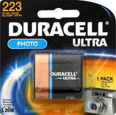 Duracell Photo 6 V Ultra Lithium batteries digital Cameras 223 DL223, used for sale  Shipping to India
