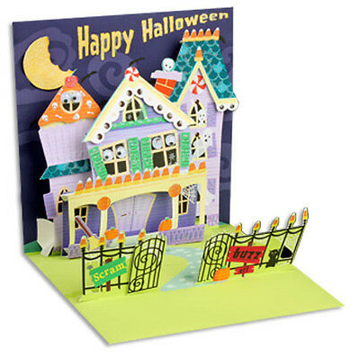 Keep Out Pop-Up Halloween Card - Greeting Card by Up With Paper by Up With Paper](Halloween Pop Out Card)