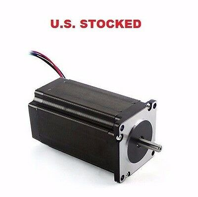 1pcs Nema23 381ozin 3.5a Dual Shaft Stepper Motor