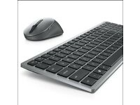 Dell Multi-Device Wireless Keyboard and Mouse - KM7120W - UK